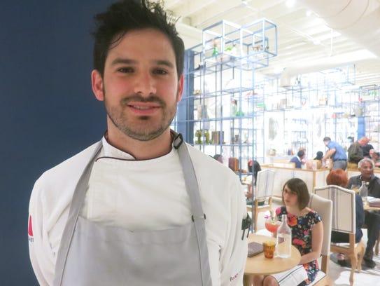 La Dulce executive chef Juan  Carlos Negrete.