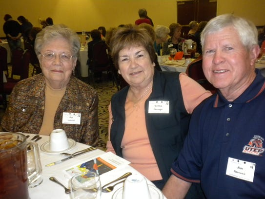 Pat Lobdell, Velma Sprouse and Jim Sprouse