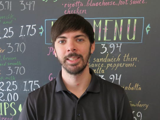 Turtle Leaf Café owner Adam Bunce