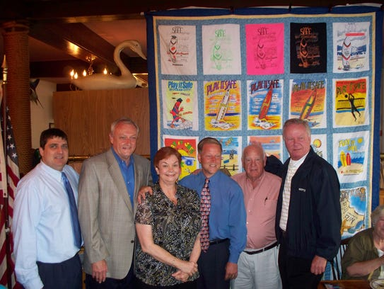 From left in 2012, Ocean City Councilman Joe Hall,