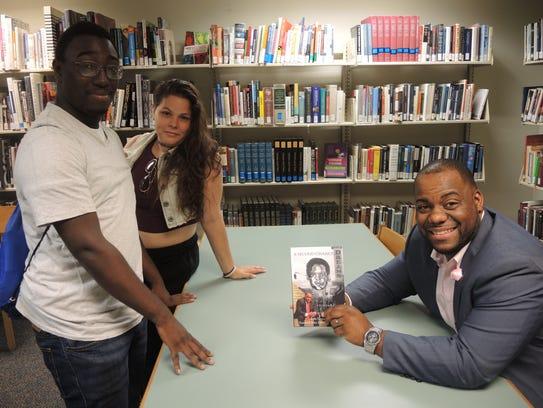 Left to right: Berkeley College students Keyir Murphy