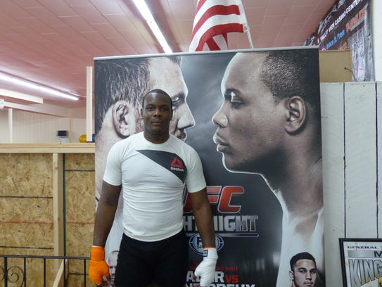 Ovince St. Preux at Knoxville Martial Arts Academy