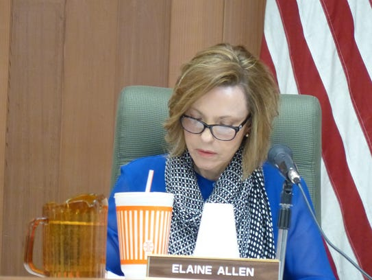 Commissioner Elaine Allen offered the motion to postpone