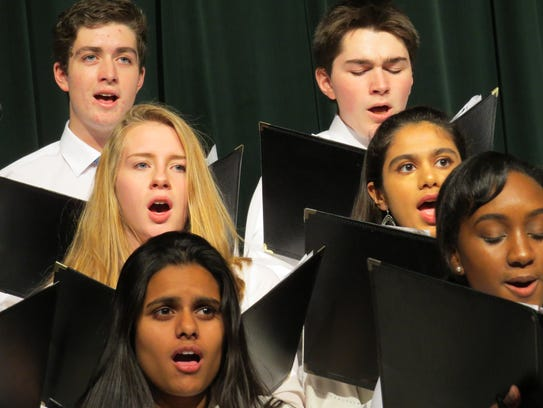 Wardlaw-Hartridge students perform at the Winter Concert.