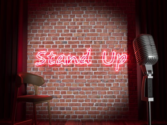 Stand-up comedy can be a fun way to spend Valentine's