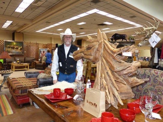 Chuck Sonnenberg of Santa Fe Furniture and Gifts on