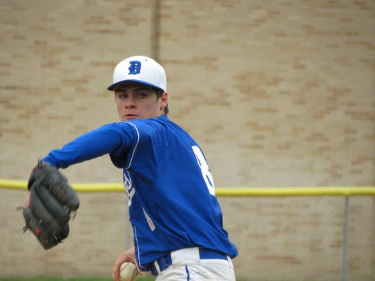Jaime Gonzalez pitched well for NV/Demarest, allowing