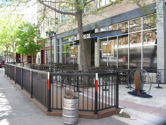 Mighty Mo Brewing Co. opened Great Falls' first pedlet in May 2017.