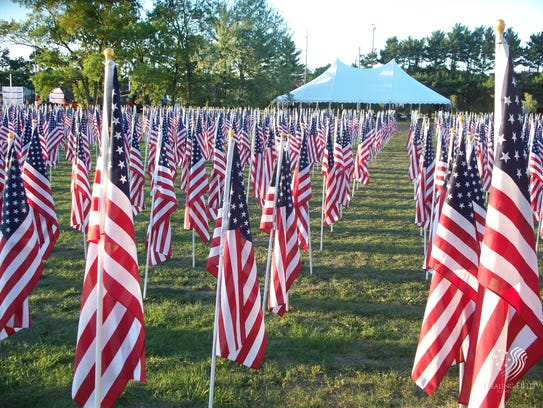 The Field of Honor – Veterans Tribute will pay respects