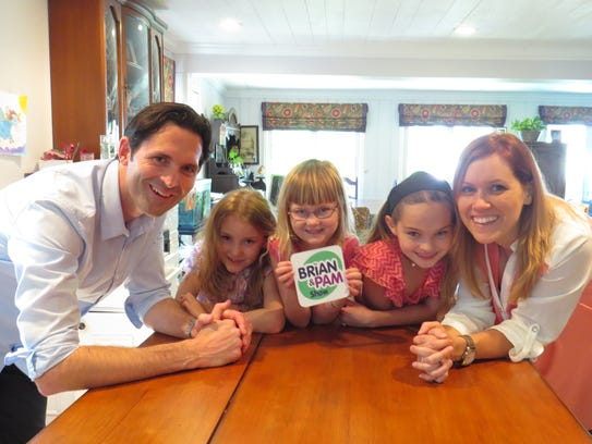 Brian and Pam Wheelock with their children Katelyn,