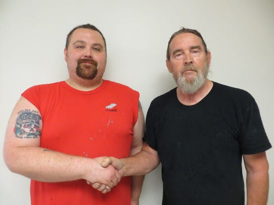 D.L. Martin Co.'s Employee of the Month Justin Robinson