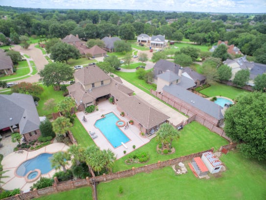 The home includes more than an acre of property in