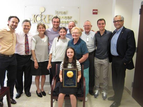 For her Bat Mitzvah Project, Anna Schanzer, 12, of