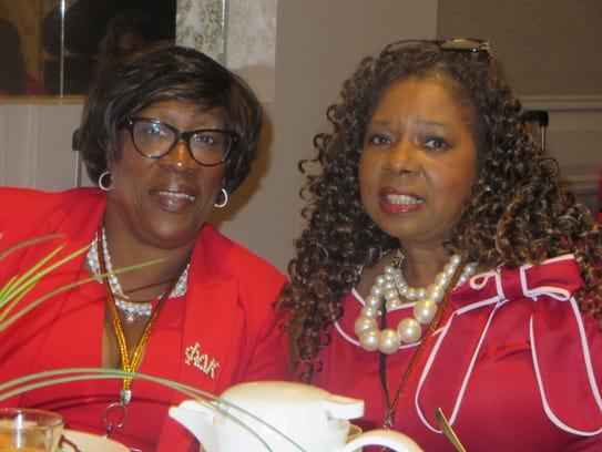 Deborah Gipson-Mckinnie and Sylvia Clark
