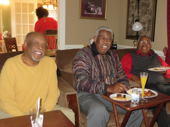 From left: Anthropos - Bobby McKinnie, Dr. Melvin Wright