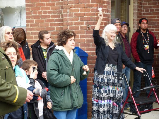 The day kicked off with a bell ringing ceremony at