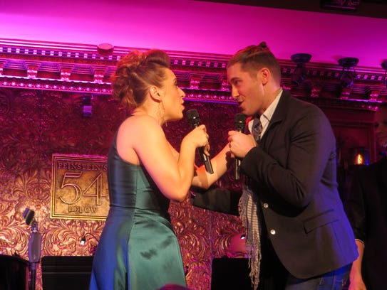 "Jessica Vosk and Matthew Morrison duet on ""Nothing's"