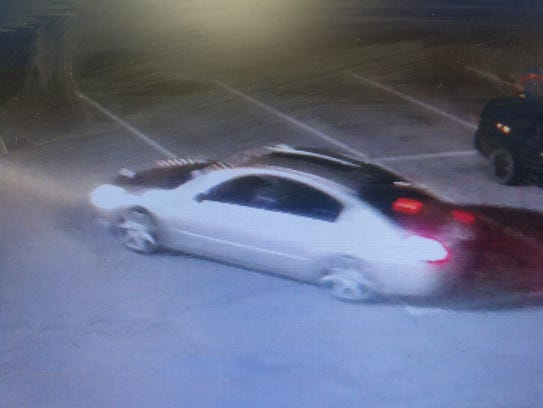 An image of the vehicle used May 24 in the theft of