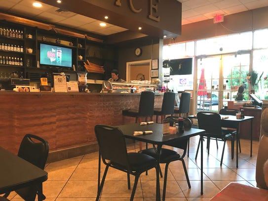 Inside Spice Thai & Sushi at 270 N.W. Peacock Blvd.