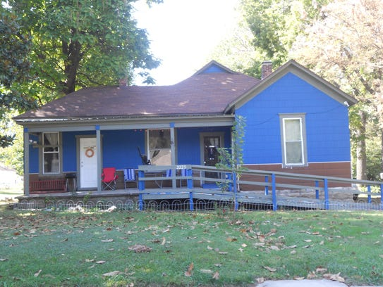 This is the house after volunteers with Habitat for