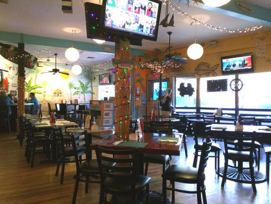 Inside The Fishack at 1931 Old Dixie Highway in Vero