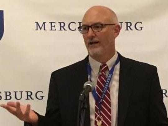 Paul Sips, candidate for Mercersburg Borough Council in 2017