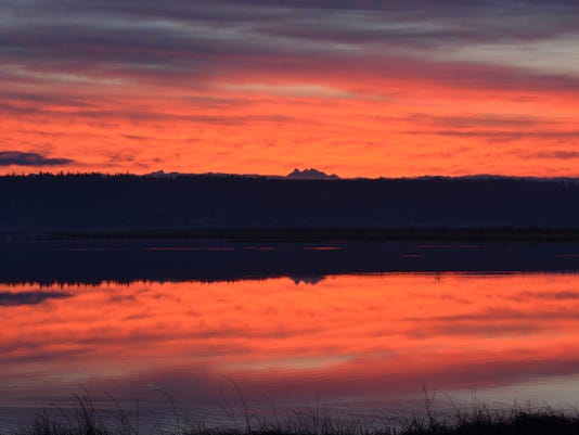 """""""Ebey Landing Lagoon"""" by Steven R. Fisher"""