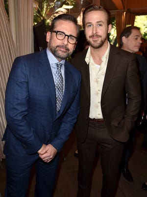 Steve Carell and Ryan Gosling hung out at the AFI Awards on Friday.