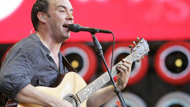 Dave Matthews, pictured here in a 2007 file photo, will return to the PNC Bank Arts Center on July 18.