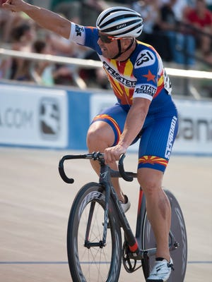 The USA Cycling Masters Track National Championships at the Giordana Velodrome in Rock Hill South Carolina.