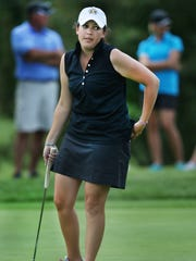 Julia Potter finished tied for fifth at 1-over par at the Indiana PGA Women's Open on Thursday, June 26, 2014 at Hillview Country Club in Franklin.