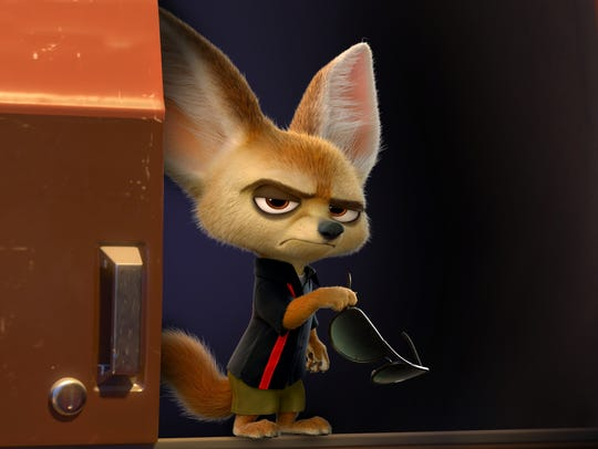 Tommy Lister voices Finnick, a fennec fox with a big