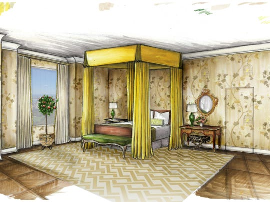Contestants had to design the entire 6,000 square foot residence, from the space planning to the interior walls.
