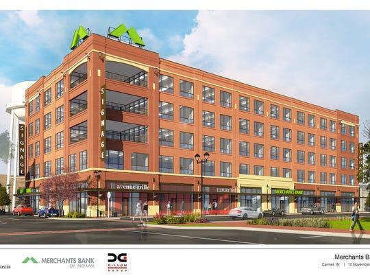 Merchants Bank headquarters will break ground this year at Midtown.