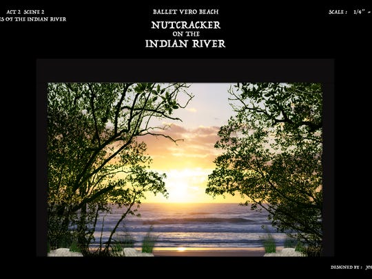 """The Nutcracker on the Indian River Lagoon,"" will be"