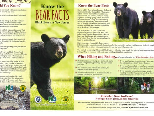 It is important to take cautionary measures to prevent bears from lingering in the area.