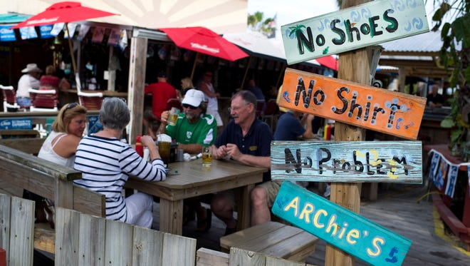 Archie's Seabreeze is a dog-friendly spot in Fort Pierce.