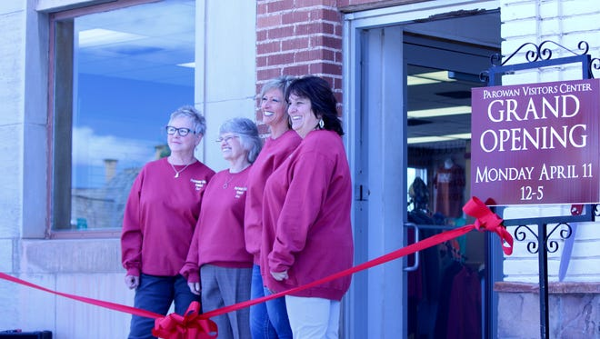 The grand opening of the Parowan Visitors Center on Monday, April 11, 2016.