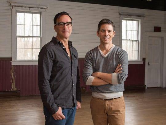 Jeff Mousseau, left, and Paul Ricciardi are the new artistic directors of the Ancram Opera House.