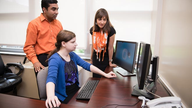 Laura Whitlock, Kapil Chalil Madathil and Heidi Zinzow (left to right), all of Clemson University, are conducting research that could help researchers better understand why social media challenges go viral and what can be done to keep youths from harming themselves.