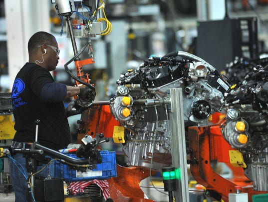 Ford EcoBoost engine at Cleveland Assembly Plant