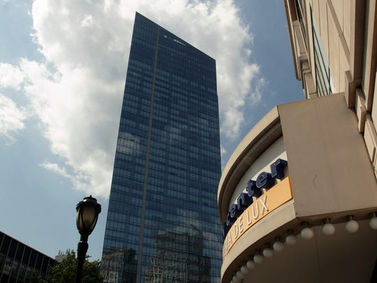 A view of The Ritz Carlton tower in White Plains.