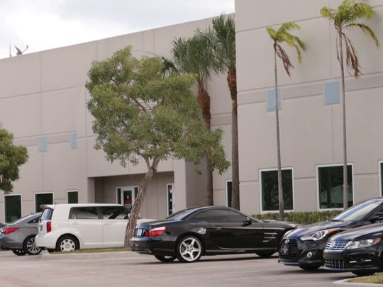 This is the former site of Bieger International Gymnastics in Deerfield Beach, Florida. Bieger was the final gym where Adams worked before he was arrested in 2009 on allegations of molesting a 10-year-old girl.