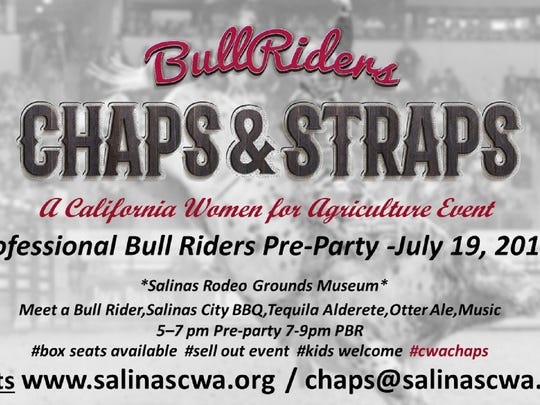 Chaps & Straps fundraiser for California Women for Agriculture, 2016