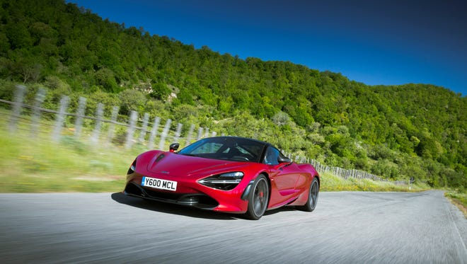 McLaren 720S is the English automaker's latest high-tech machine.