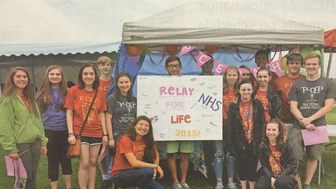 Students and graduates from the Plymouth-Canton Educational Park high schools participated in the 2015 Relay For Life in Canton Township. This year, the high school campus will for the first time host its own Relay, a fundraiser for the American Cancer Society, Saturday, Nov. 5.
