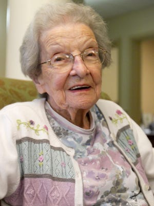 Kay Kempski celebrated her birthday with a large family gathering of as many in attendance as years she's lived, estimating that about 100 family members, many who traveled a great distance, joined her for her 100th birthday which is today.