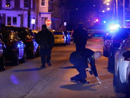 Wilmington Police investigate a shooting in the 1200