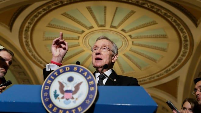 Senate Minority Leader Harry Reid said Friday he will not seek re-election in 2016.