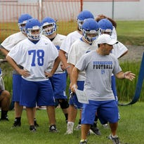 Video: Horseheads opens football practice
